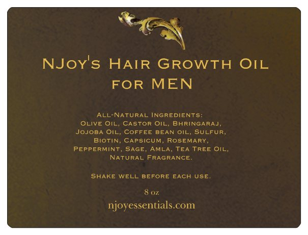 NJoy's Hair Growth Oil for MEN